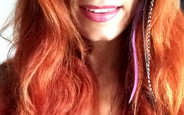 Red hair adventures: Lush henna vs Henne Color | Girl with a Pen