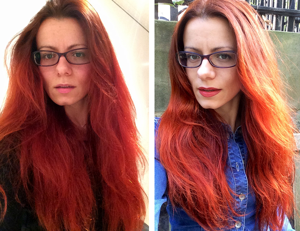 Red Hair Adventures Lush Henna Vs Henne Color