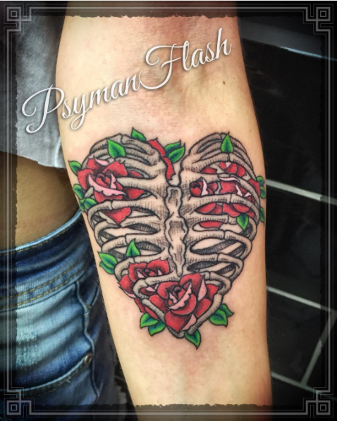 ribcage-rose-tattoo-psymanflash